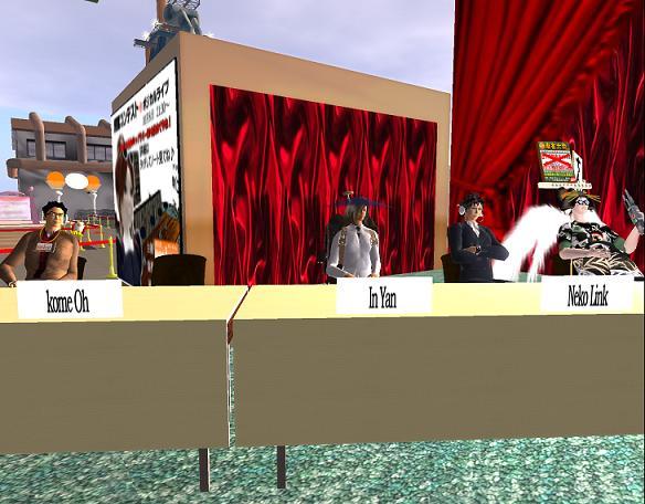 POSICAL LIVE 接客コンテスト(2回目) 接客コンテスト審査員
