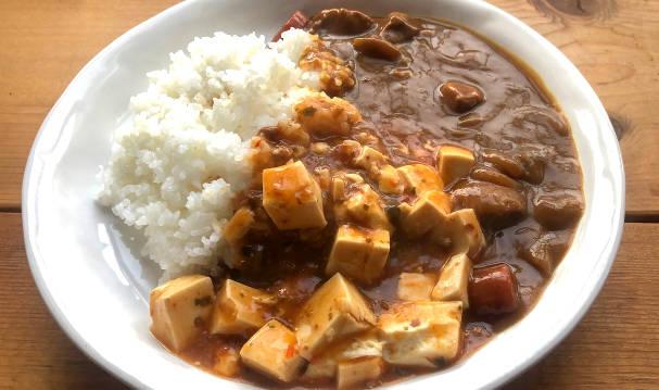 豆腐が入ったカレー