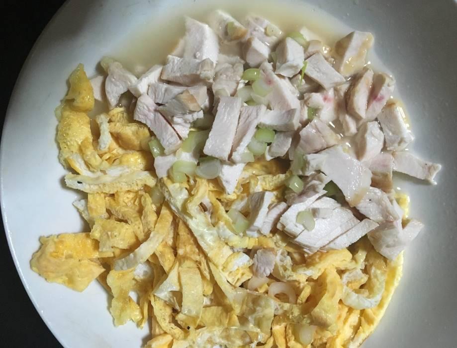 米抜きなんちゃって鶏飯