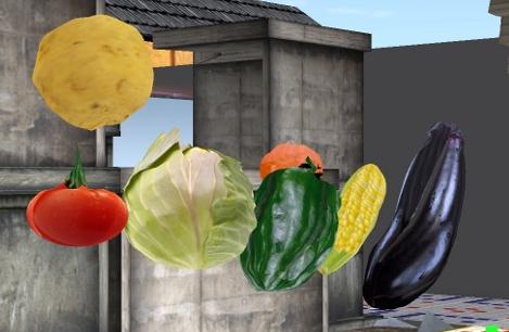 SecondLife 野菜 vegetable