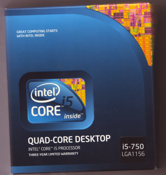 intel i5 750 lga775 QUAD-CORE DESKTOP