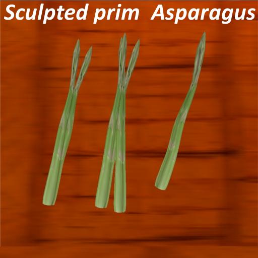 Sculpted prim  Asparagus スカルプテッドプリム アスパラガス
