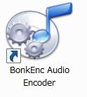 BonkEnc Audio Encoderというフリーソフト