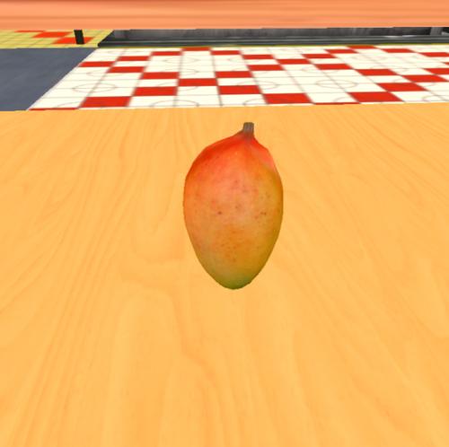 意外と見かけない完熟のマンゴー
