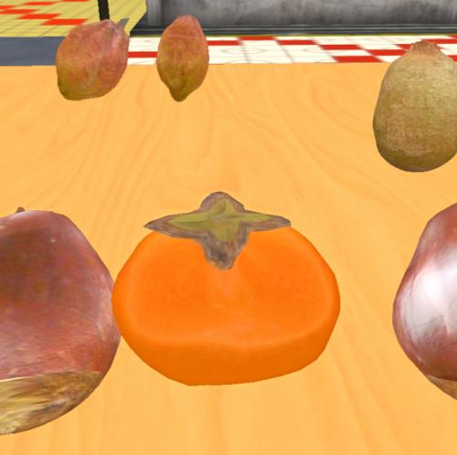 Persimmon 柿 Sculpted