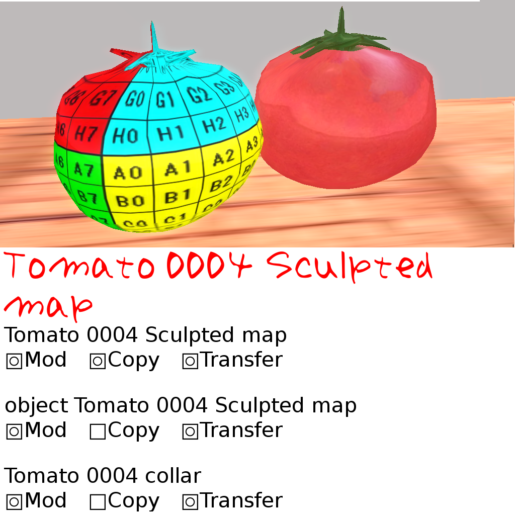 Tomato 0004 Sculpted map