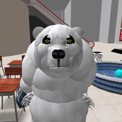 ぬふふパンダカラー白熊