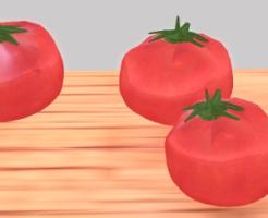 セカンドライフでトマトスカルプテッドプリム