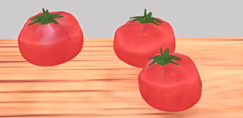 トマトは嫌いですがスカルプでは4種類目