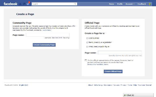 facebook オフィシャルページ