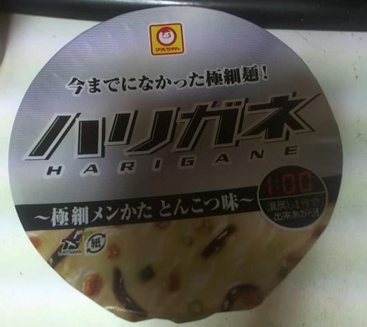マルチャンハリガネ 豚骨カップラーメン