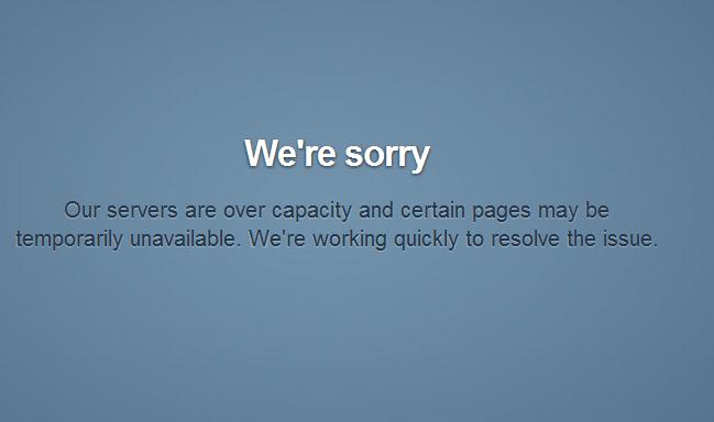 tumblr.comのエラー画面