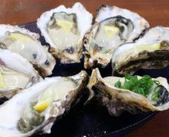 牡蠣をレモンで食べる料理