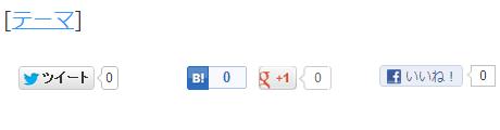 賢威6のthemeテーマでブックマークが表示されない