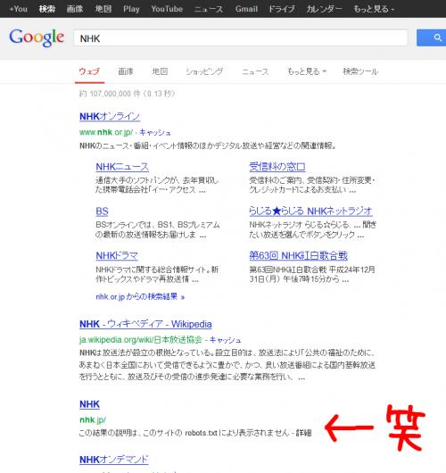 nhk - Google 検索