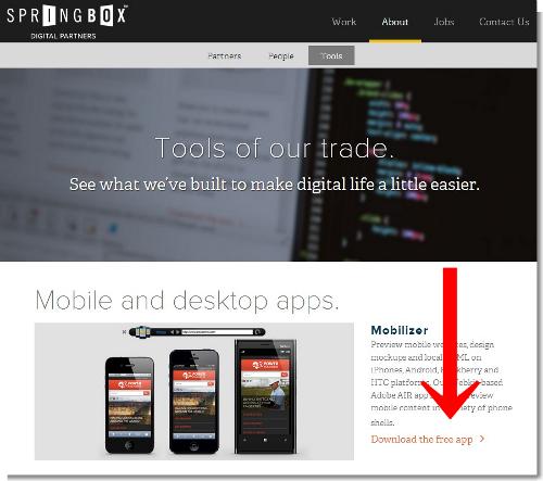 Springbox   Digital Strategy Agency   Tools