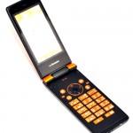 フューチャーフォン又はガラパゴス携帯と呼ばれているパカパカ携帯電話