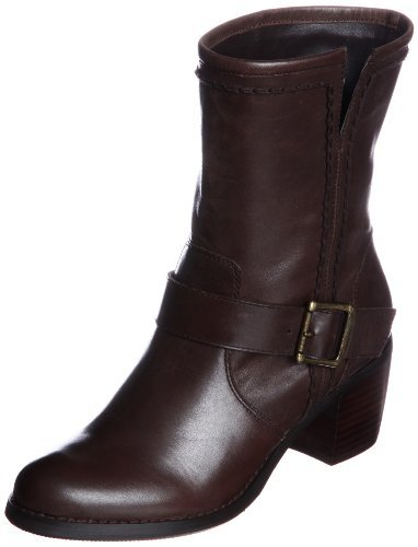 Bridget Birkin heel rise engineer's boot