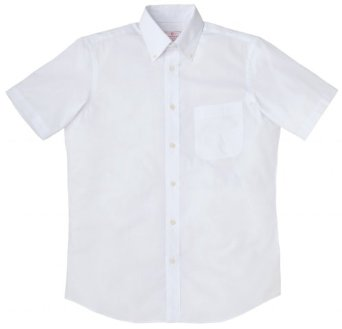 Printstar short-sleeved shirt broadcloth   Button-down shirt