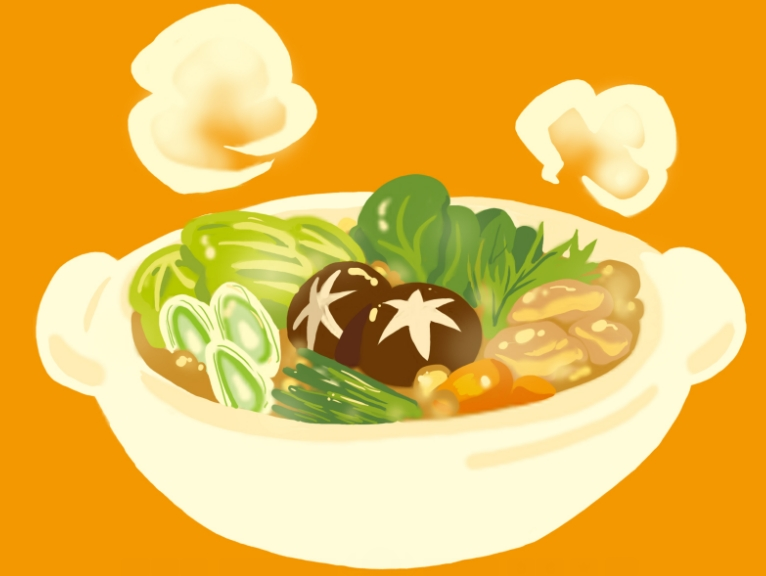鍋(料理)の絵
