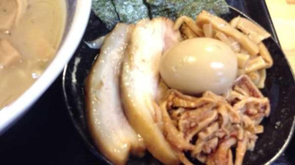 麺屋 頂 中川會 最寄り駅:曳舟駅 300円のチャーシューセット