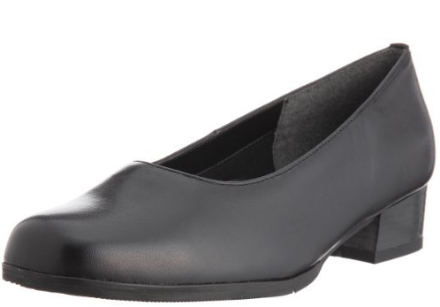 NAOMI 4E rum leather pumps
