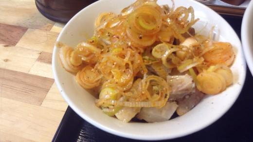 麺屋 中川會のネギチャーシュー丼