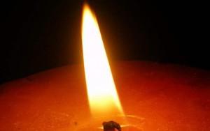 ローソクの炎
