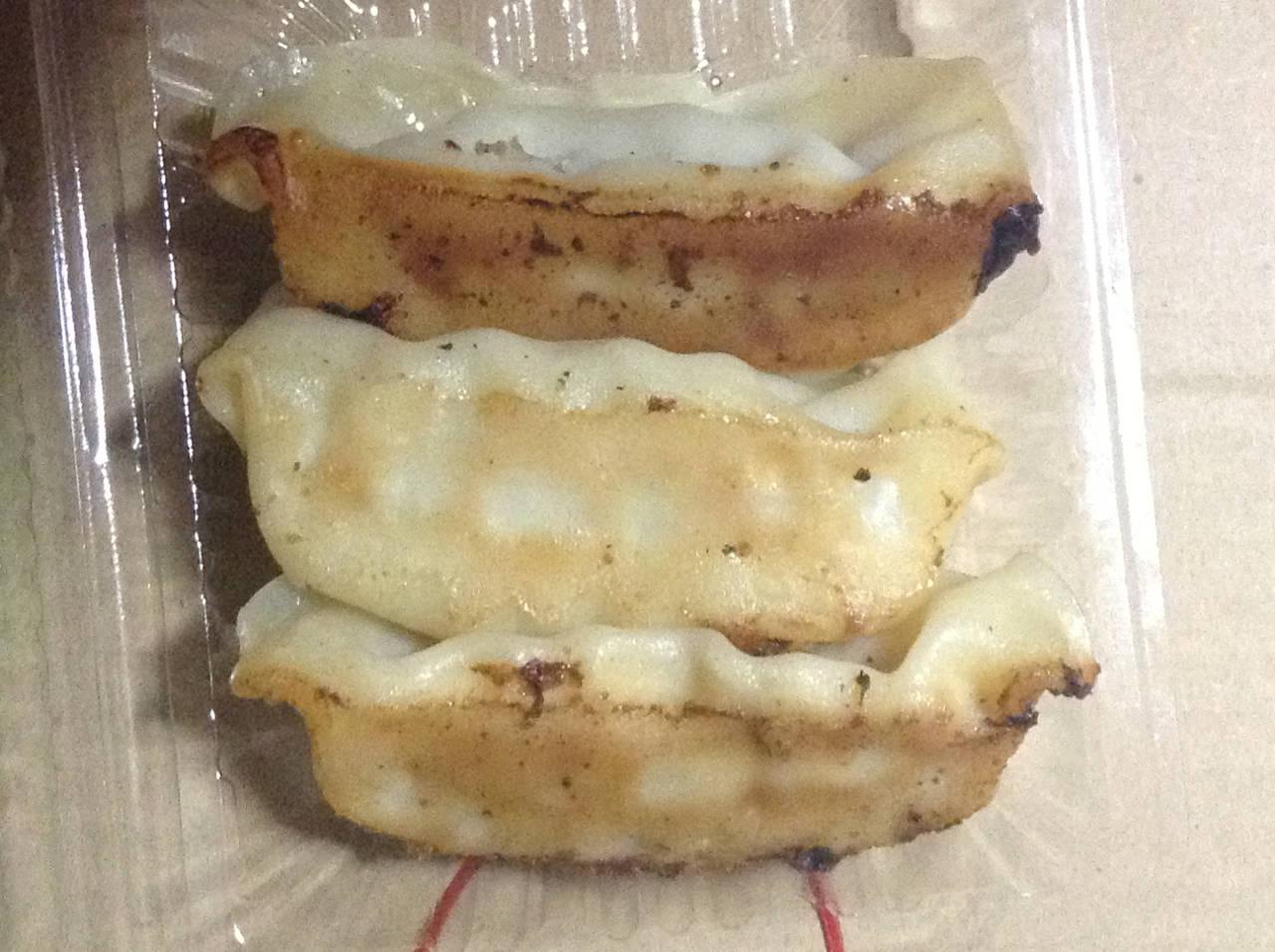 オリジン弁当の餃子(総菜)