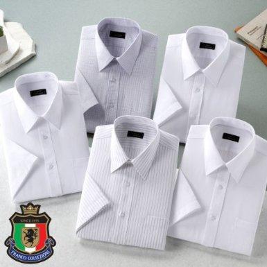 銀座・丸の内のOL100人が選んだワイシャツセット メンズ半袖