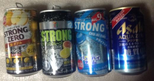 糖質が少ないアルコール類(ビールや発泡酒)