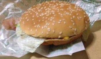 マクドナルドのベーコンレタスバーガー
