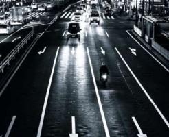 道路の車線