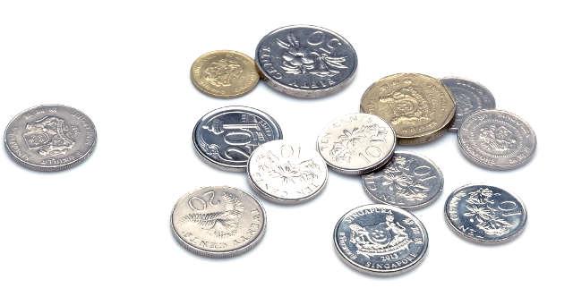 シンガポールの硬貨