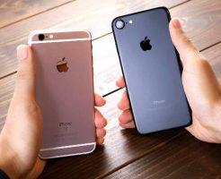 iphone7とiphone5