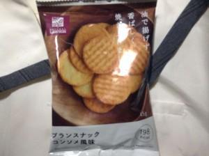 ブランスナックコンソメ風味 ナチュラルローソン(スナック菓子)