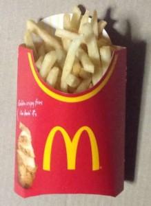 マクドナルドのマックフライポテト