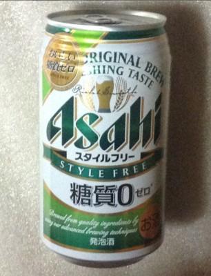 アサヒビール スタイルフリーのパッケージ写真