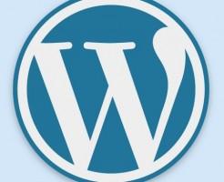 ワードプレレスのロゴ