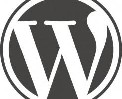 ワードプレスのロゴ 丸型