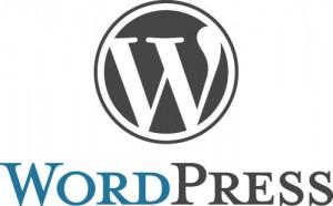 ワードプレスのロゴと文字