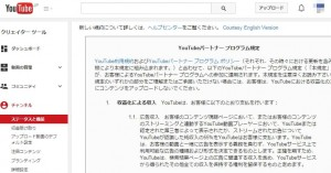 youtube-Partner Program provisions