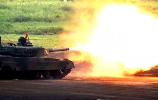 自衛隊の戦闘車両