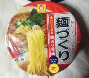 麺づくり(マルちゃん)味わいすっきり鶏ガラ醤油のパッケージ写真