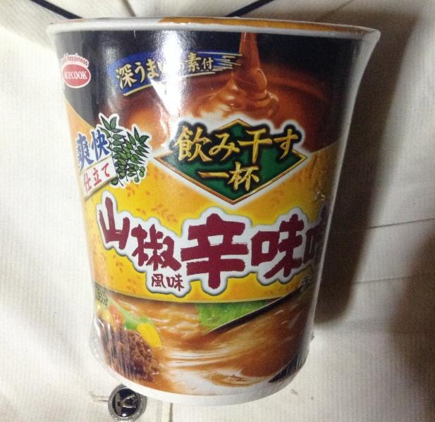 エースコック山椒風味 辛味噌
