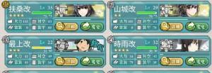 「西村艦隊」のメンバー