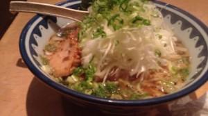 麺処 醤油ラーメン+葱トッピング