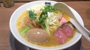 味玉 鶏そば:竹末東京