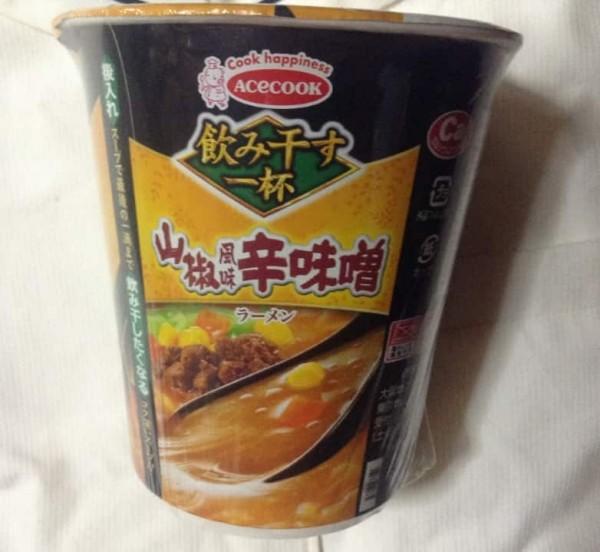 エースコック山椒風味辛味噌(カップラーメン)