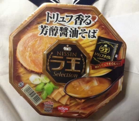 日清 ラ王Selection トリュフ香る芳醇醤油そば
